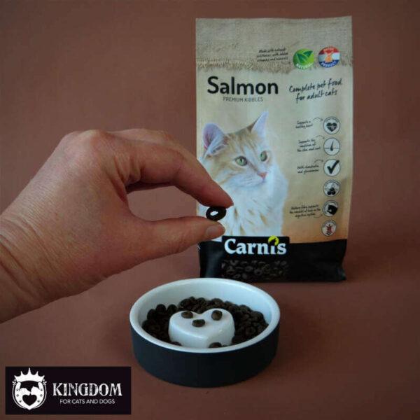 CARNIS Salmon zalm. Volledig diervoeder voor volwassen katten.