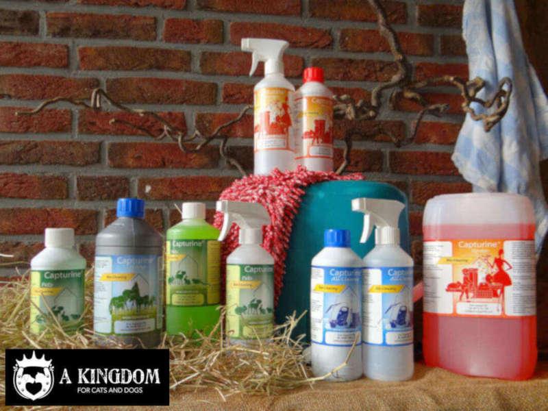Capturine® microbieel reinigingsproducten voor in en om het huishouden.