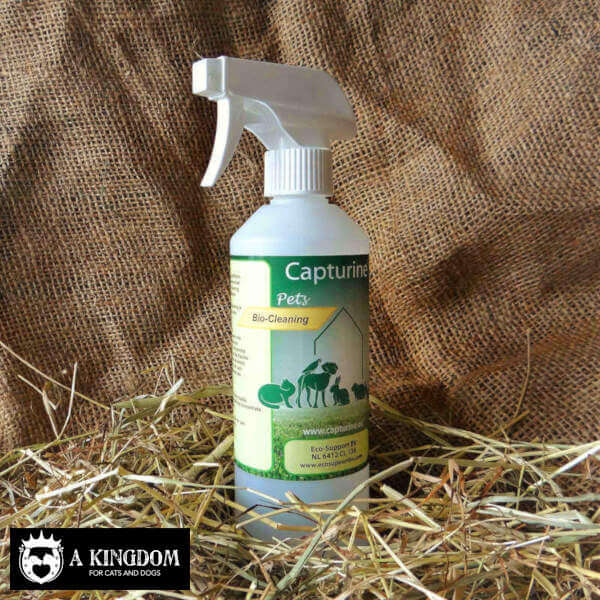 Capturine® Pets Bio-Cleaning spray fles
