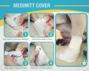 PawFlex Medimitt waterbestendige hoes
