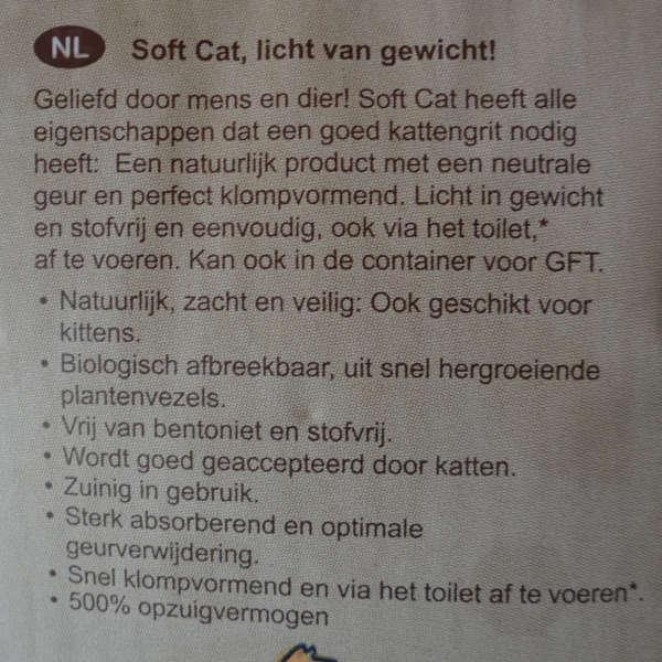 Duurzaam kattenbak grit