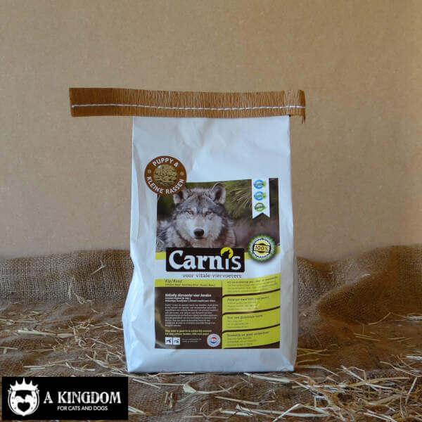 Carnis kleine geperste hondenbrokjes Kip/Rund