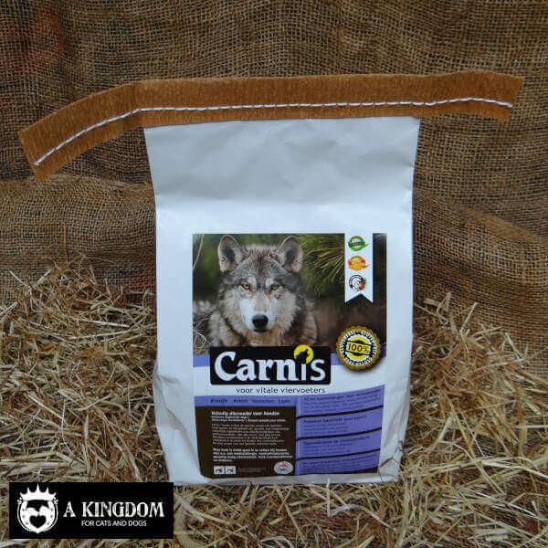 Carnis geperste hondenbrok voor volwassen & grote honden Konijn