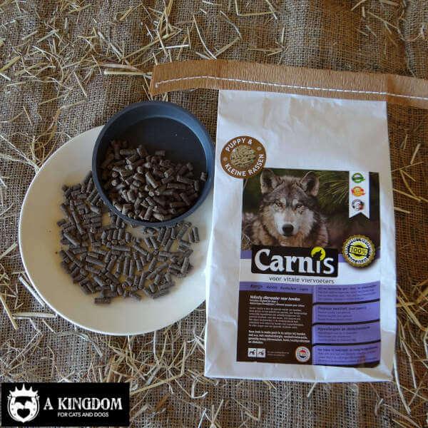 Carnis kleine geperste hondenbrokjes Konijn