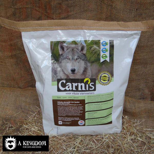 Carnis geperste hondenbrok voor volwassen & grote honden Lam