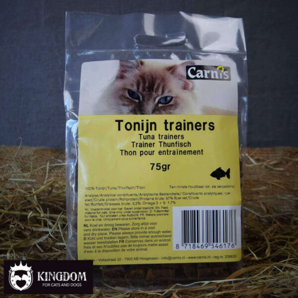 Snack Hond Kat Carnis trainers Tonijn 75gr