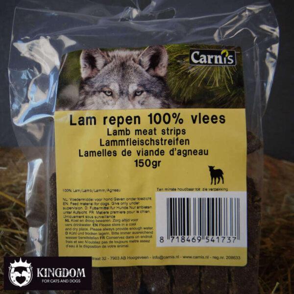 Snack Hond Kat Carnis vlees repen Lam 150gr