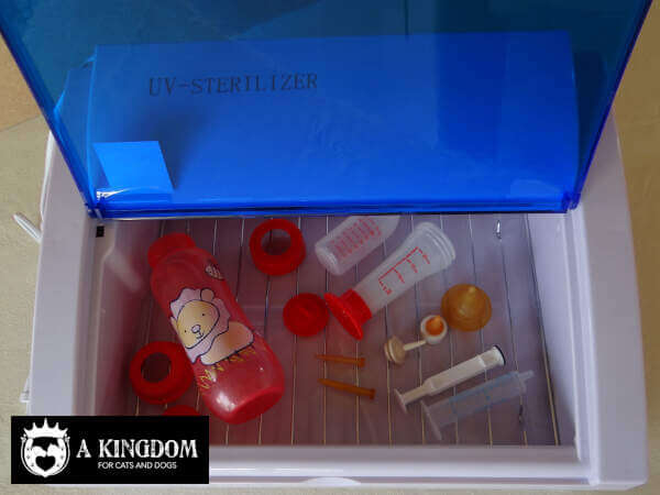 Desinfectie UV sterilisator box