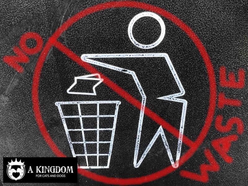 Anti verspillings-hoek