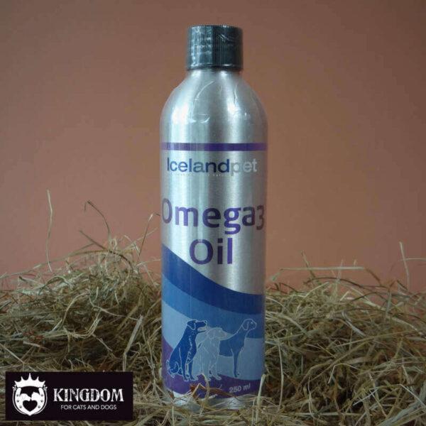 IcelandPet Omega 3 Oil uit ansjovis en sardientjes.