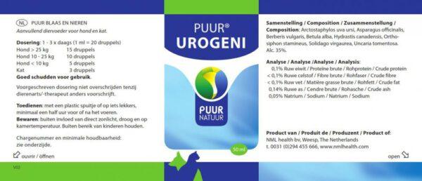 Puur Urogeni voor gezonde blaas & nieren