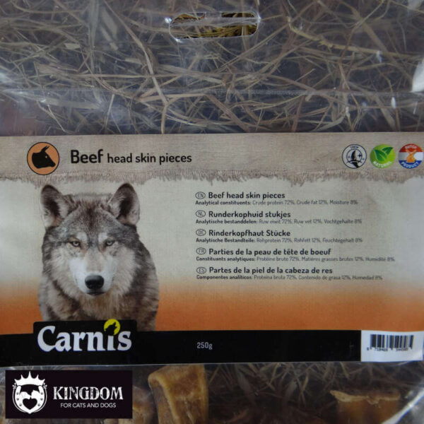 Kauw snack Hond Carnis Runderkophuid