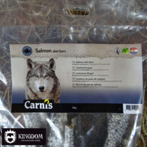 Snack Hond Kat Carnis Zalmhuid repen