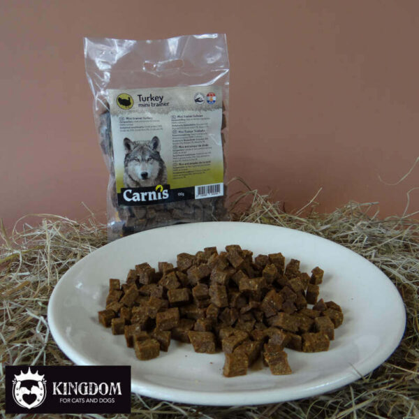 Snack Hond Kat Carnis mini trainers Kalkoen