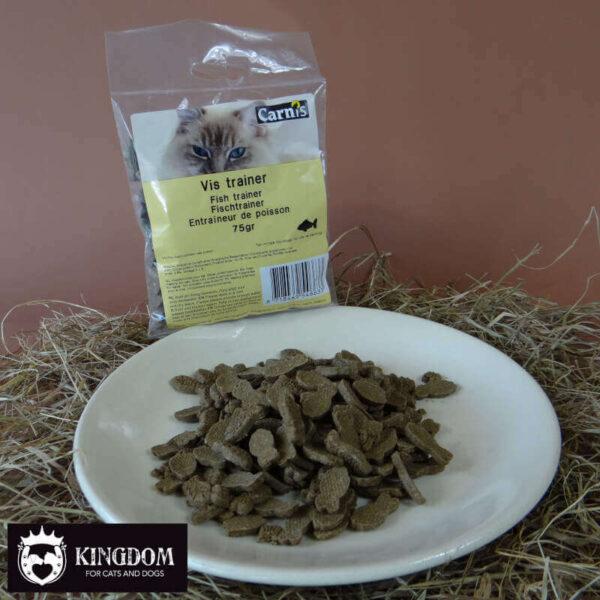 Snack kat hond Carnis Vis trainer