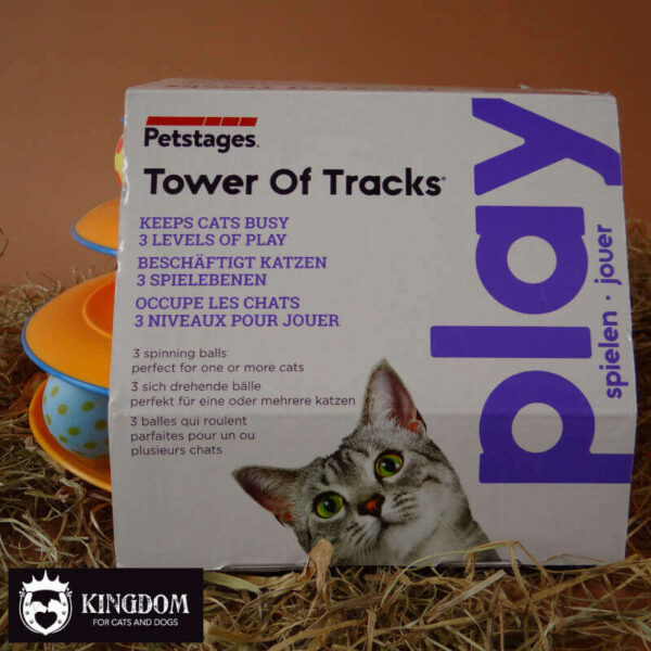 Petstages Tower of Tracks katten speeltoren