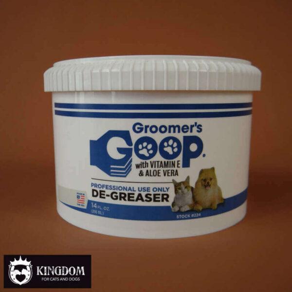 De-greaser Groomers Goop-Liquid vacht ontvetter.