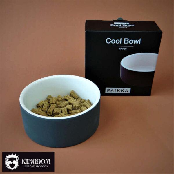 Voerbak Paikka Cool Bowl Black M