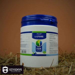 PUUR L-Lysine / L-Lysine compleet 500 gram