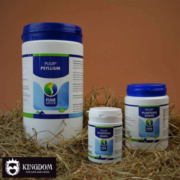 Puur Psyllium Plantago Ovata tegen diarree en verstopping.