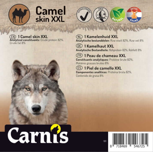 Dog snack Camelskin XXL piece