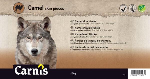 Dog snack Camelskin pieces