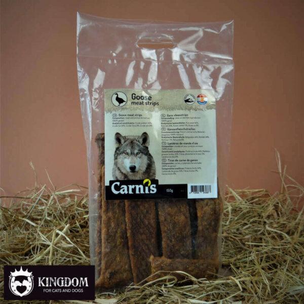 Snack Hond Kat Carnis vlees strips Gans