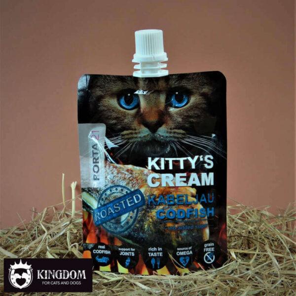 Snack kat Kitty's Cream codfish