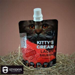 Snack kat Kitty's Cream salmon