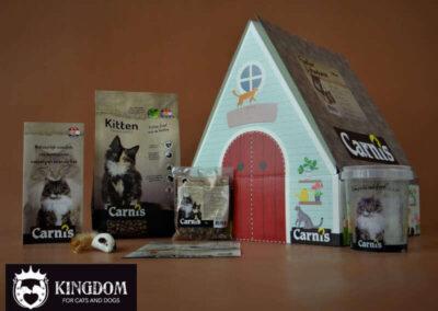 Carnis Kittenpakket playhouse